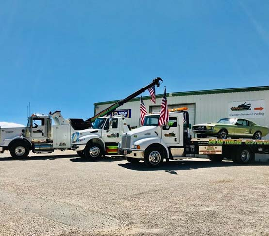 heavy duty towing by Advanced Towing & Automotive